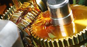 Öl auf Metallrad